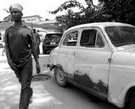Scène van Zanzibar, Tanzania, Afrika Stock Foto's
