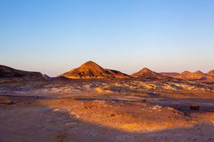 Scènes égyptiennes de désert Photos libres de droits