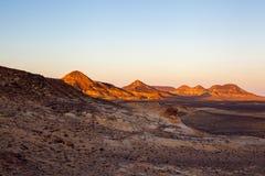 Scènes égyptiennes de désert Photo stock