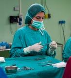 Scènes 8 de chirurgie photos libres de droits