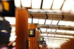 Scènes d'aéroport Image libre de droits