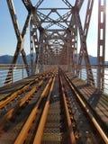 Scènes d'un chemin de fer Photo stock