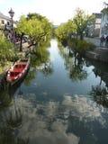 Scènes de la région de canal de Kurashiki, Japon Image libre de droits