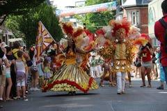 Scènes de samba Image libre de droits