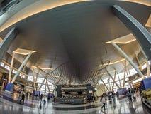 Scènes de Trveling à un aéroport américain Image libre de droits