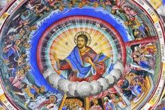Scènes et Jésus photos libres de droits