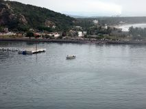 Scènes van Mazatlan, Mexico van een cruiseschip stock foto's