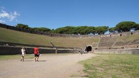 Scènes van Pompei (1 van 23) stock footage