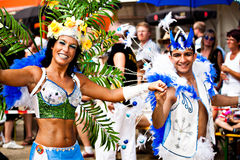Scènes van Samba Royalty-vrije Stock Afbeelding