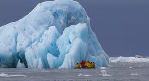 Scènes van Svalbard royalty-vrije stock afbeelding