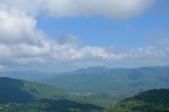Scénique de la montagne Image libre de droits