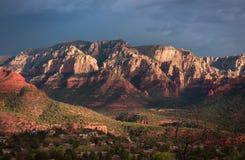 Scénique donnez sur dans Sedona, Arizona image libre de droits