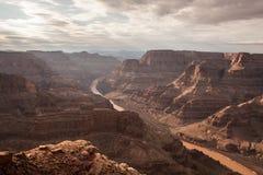 Scénique spectaculaire : Grand Canyon de point de guano, Hualapai Images stock