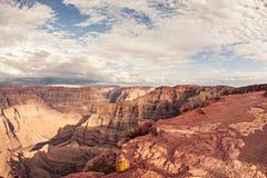 Scénique spectaculaire : Grand Canyon de point de guano, Hualapai Photographie stock libre de droits