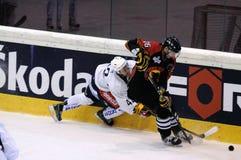 SC Berna contra Jokerit Helsinki Imagenes de archivo