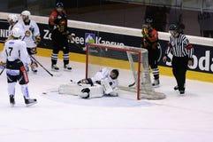 Sc Berna contro Jokerit Helsinki Fotografia Stock