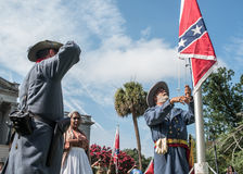 SC Confederate Flag Rally Stock Image