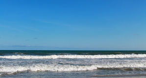 SC da praia do insensatez de Oceano Atlântico imagens de stock royalty free