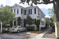 SC de Charleston, el 7 de agosto: Casa histórica de Charleston en Carolina del Sur Foto de archivo libre de regalías