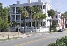 SC de Charleston, el 7 de agosto: Casa histórica de Charleston en Carolina del Sur Imagenes de archivo