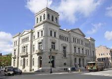 SC de Charleston, el 7 de agosto: Edificio histórico de Charleston en Carolina del Sur Imágenes de archivo libres de regalías