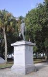 SC de Charleston, el 7 de agosto: Moultrie Monument de Charleston en Carolina del Sur Imagen de archivo libre de regalías