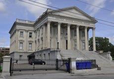 SC de Charleston, el 7 de agosto: U S Edificio de aduanas de Charleston en Carolina del Sur Imagen de archivo libre de regalías