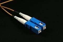 Sc de fibre de connecteur Images libres de droits