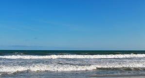 SC de la playa de la locura de Océano Atlántico Imágenes de archivo libres de regalías