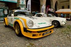 SC de Porsche 911 em Bergamo Prix grande histórico 2015 Imagem de Stock Royalty Free