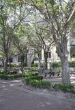 Sc di Charleston, il 7 agosto: Parco di lungomare da Charleston in Carolina del Sud immagini stock libere da diritti