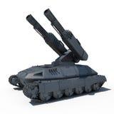Sc.i-de toekomstige tank van FI Royalty-vrije Stock Afbeelding
