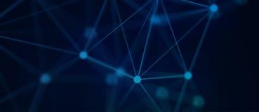 Sc.i-de Vlechtachtergrond van Technologie van FI Stock Afbeelding