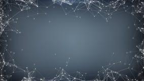 sc.i-FI netwerkvorm met DOF wordt teruggegeven die Royalty-vrije Stock Foto's