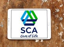SCA company logo Stock Photos