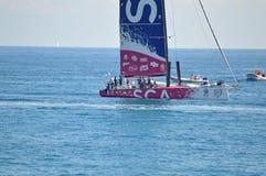 Sailing SCA Ladies Yacht Racing Team 2014 Volvo Ocean Race Royalty Free Stock Images