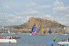 SCA und Abu Dhabi Round The Mark Lizenzfreies Stockbild