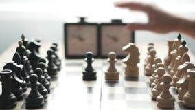 Scacchi del gioco di due giocatori