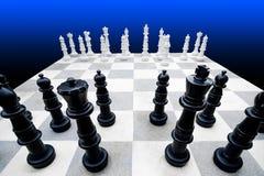 scacchiera gigante Immagini Stock
