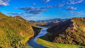 Scadar湖国家公园 免版税库存图片
