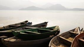 Scadar湖 库存图片