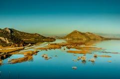 Scadar sjö Arkivbilder