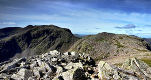 Scafell Pike Royalty Free Stock Photography
