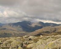 The Scafell Range Cumbria Royalty Free Stock Photos