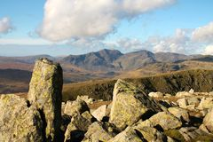 Lake District National Park Scafell Range Stock Photos