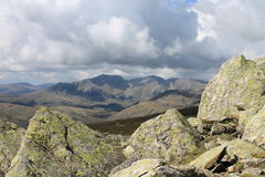 The Scafell Range Stock Image