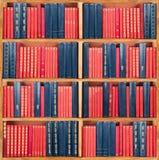 Scaffale dei libri Fotografie Stock