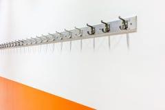 Scaffale del cappotto della parete Fotografie Stock Libere da Diritti