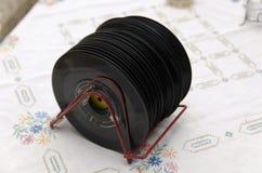 Scaffale del disco della corda Fotografie Stock