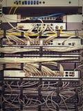 Scaffale del server Immagini Stock